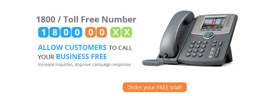 Toll free numbers, Local Numbers