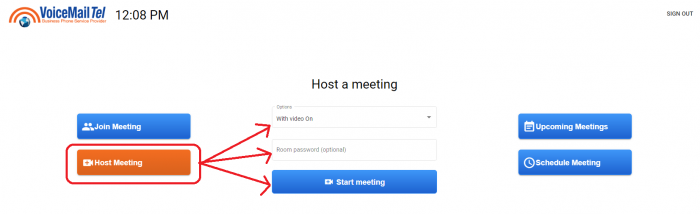 host meeting 1